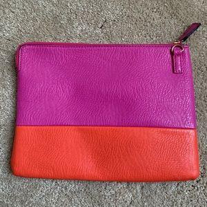 Pink & Orange Clutch